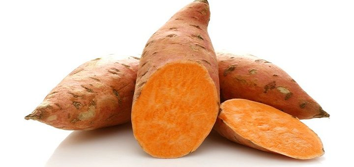 sweet potato-top foods to build muscles